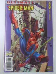Ultimate Spider-man #8, #9, #10, #11 Signed Re-marked Set Jay COA Ltd 25